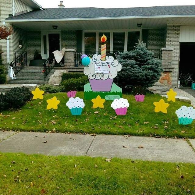 Apartment For Rent London Ontario: Birthday Party And Baby Announcements Lawn Signs Storks