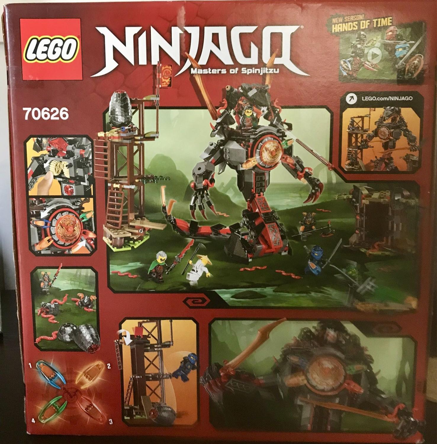 Find More Lego Ninjago Dawn Of Iron Doom Price Drop To 65 For Hands Time Sale At Up 90 Off