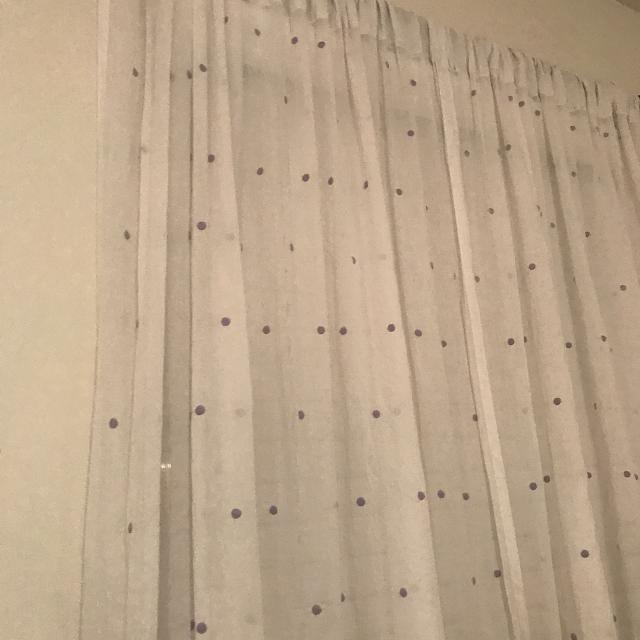 beautiful pottery barn kids curtains 2 panels purple dots - Pottery Barn Kids Curtains