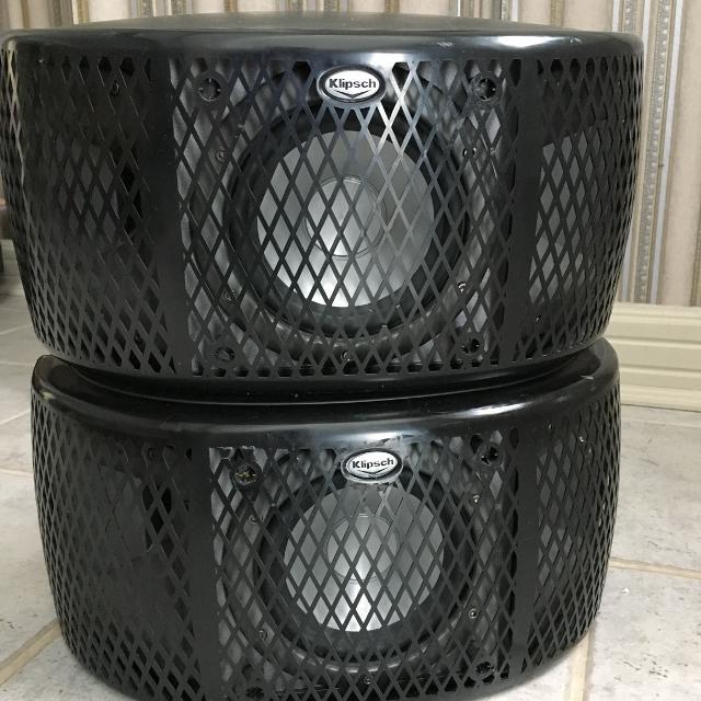 Used - Klipsch Surround Speaker pair (net removed)