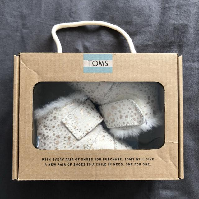 bba717e40a Best Tiny Toms Cuna Gold Foil Boots (size 2) for sale in Markham, Ontario  for 2019