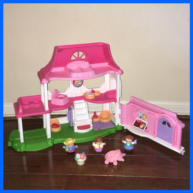 Find more Fisher Price Little People Happy Sounds Home Family ...
