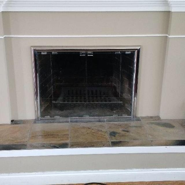 Best Modern Fireplace Glass Doors For Sale In Victoria British