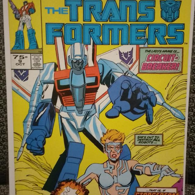 Transformers # 9 (Marvel Comics) 1985