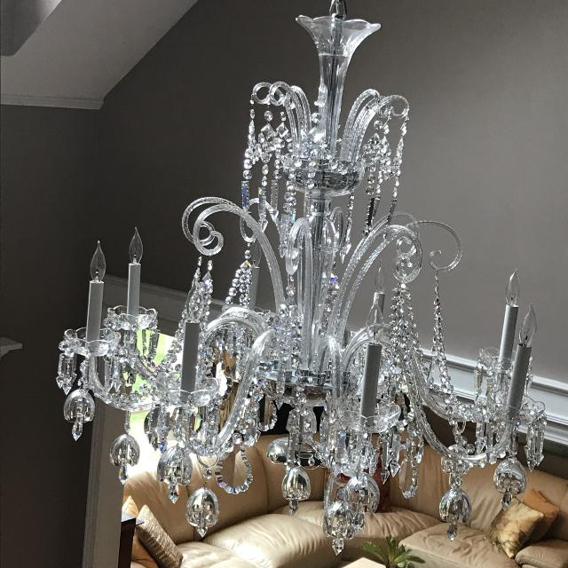 Best crystal chandelier with some waterford crystals for sale in crystal chandelier with some waterford crystals aloadofball Images