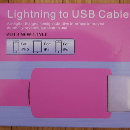 Apple - Lightning to USB Cable - Pink for sale  Canada