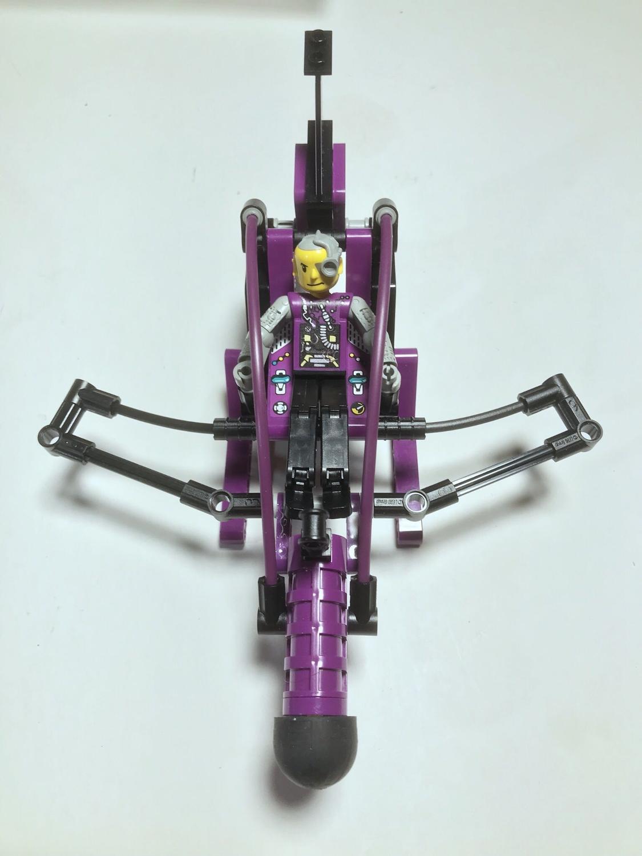 LEGO technic scorpion attack