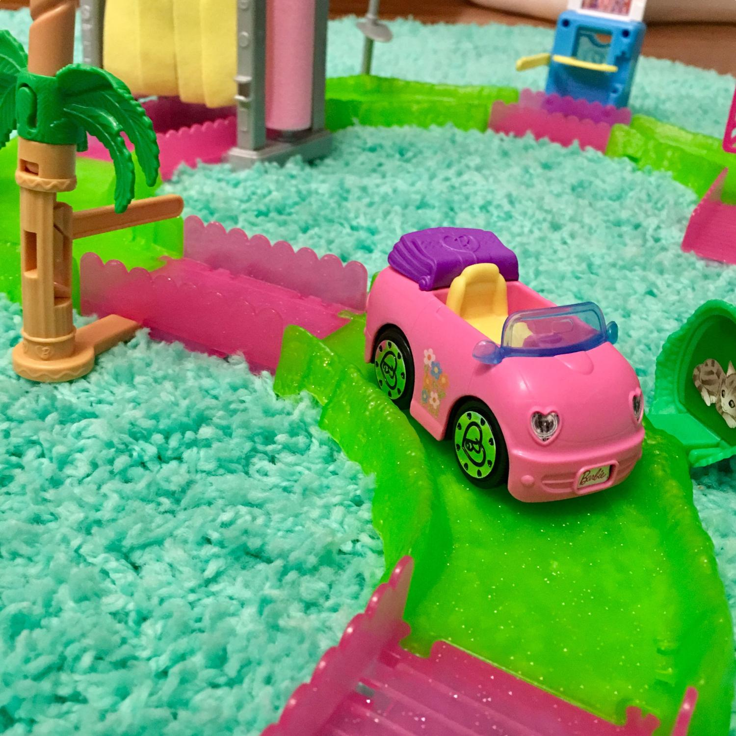 Find More Barbie On The Go Car Wash Set For Sale At Up To 90 Off
