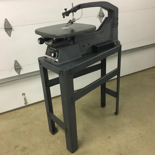 SEARS CRAFTSMAN 20 SCROLL SAW CONTRACTOR SERIES