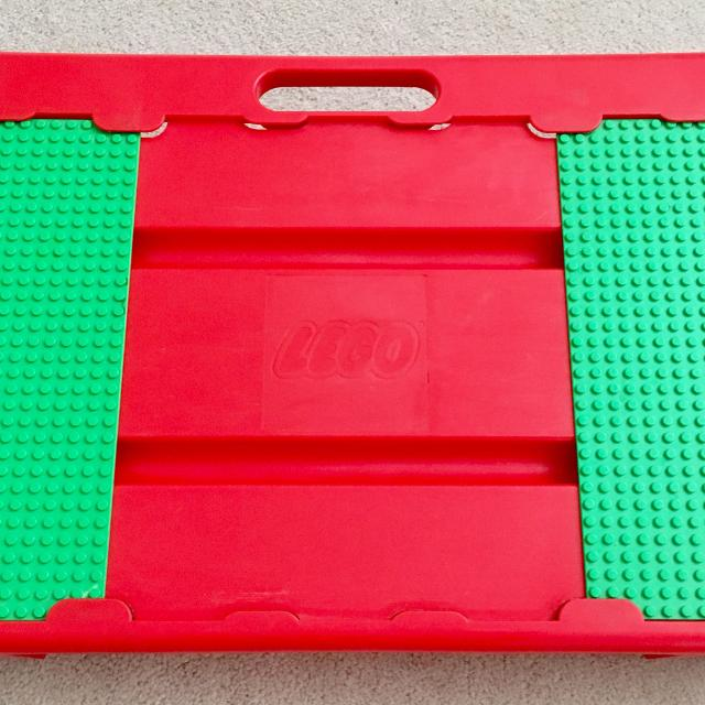 Lego Lap Tray Table Carrying Case with Lego Blocks