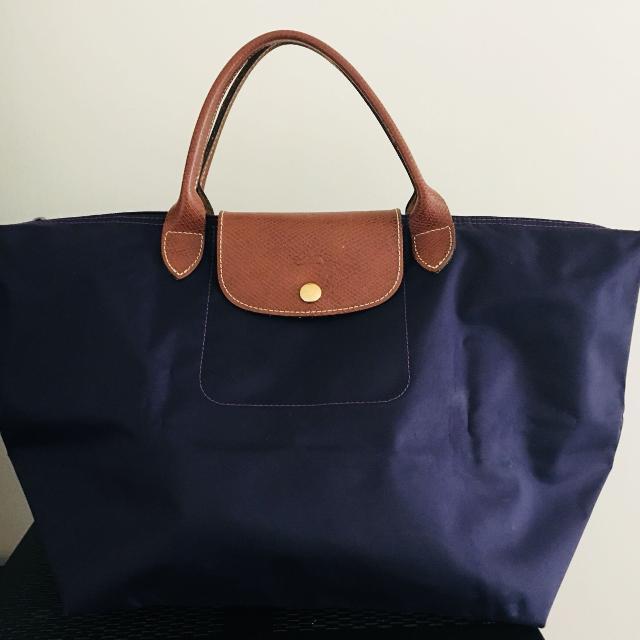 Authentic Long Champ Le Pliage Bag
