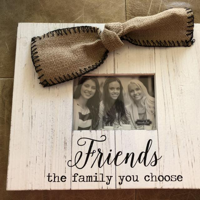 Find More Mud Pie Friends Frame New For Sale At Up To 90 Off