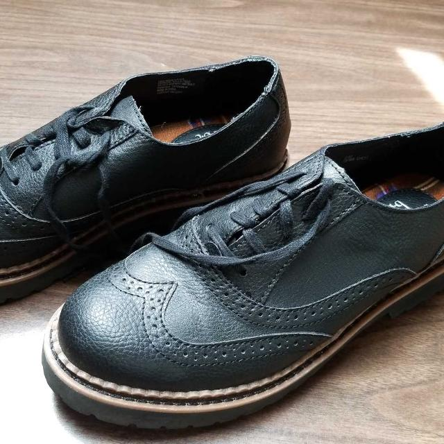 Boc By Born Black Brogues Oxford Shoes