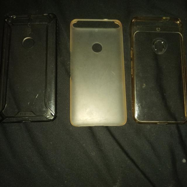detailed pictures f9a83 90dac Huawei nexus 6p clear cases(poetic affinity,huawei official clear  case,spigen) 5$ each
