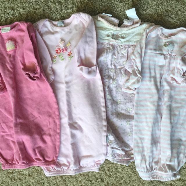Best Baby Night Gowns - Lot 2 for sale in Appleton, Wisconsin for 2018