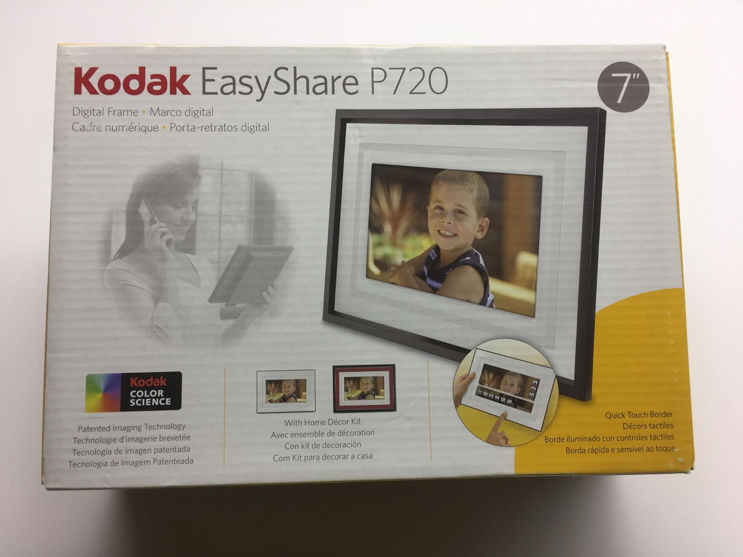 Best Bnib Kodak Easyshare P720 Digital Photo Frame for sale in ...