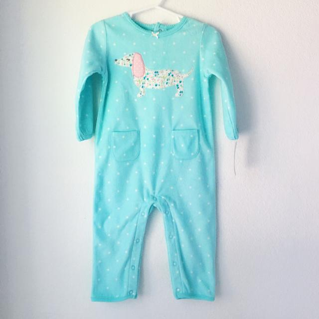 7feea7a92 Best Carter's Baby 18 Mos Fleece Footless Bodysuit for sale in San Jose,  California for 2019
