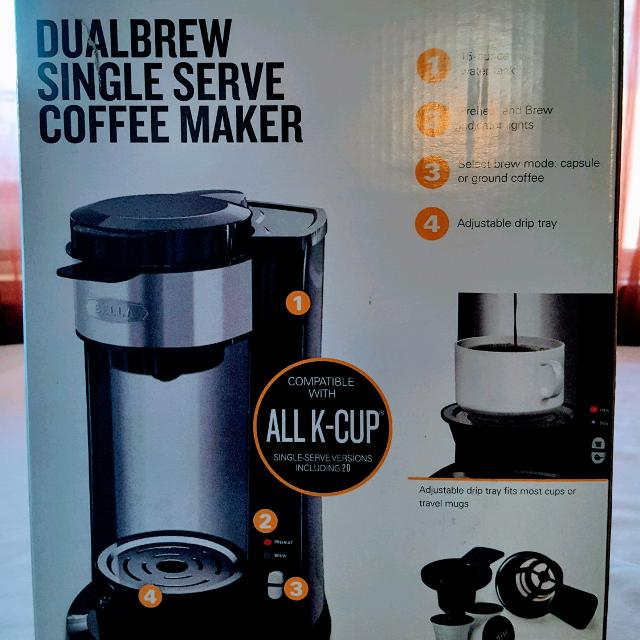Best Bella Dualbrew Single Serve Coffee Maker New For Sale In