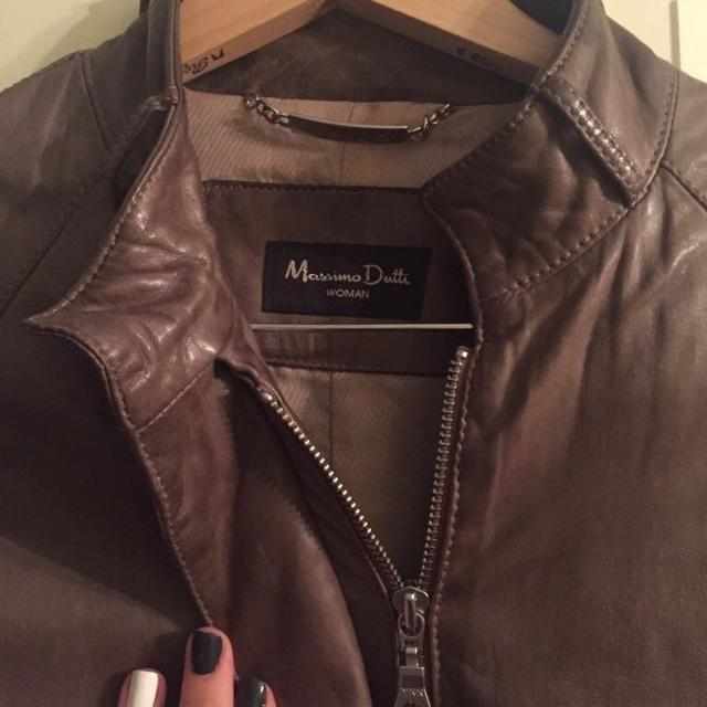 478816469f Best Leather Jacket Massimo Dutti for sale in Yorkville, Ontario for 2019
