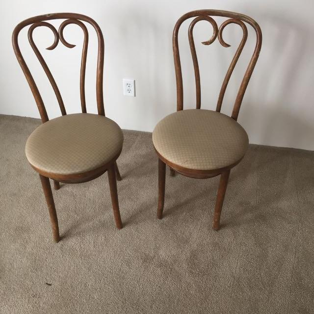 4 antique bentwood chairs - Best 4 Antique Bentwood Chairs For Sale In Ladner, British Columbia