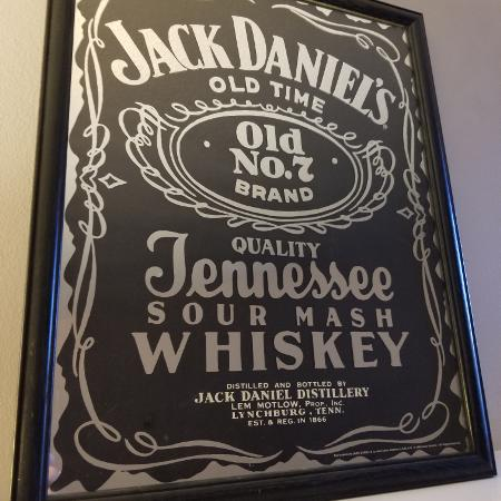 Jack Daniels mirror picture for sale  Canada