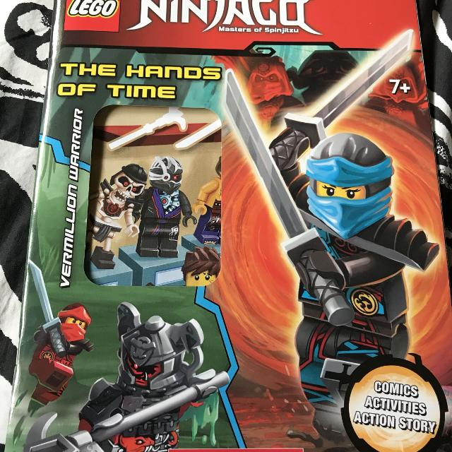 BN Lego Ninjago Activity book