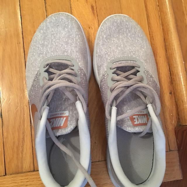 c2e69e6c0ab Find more Grey And Rose Gold Nike Shoes for sale at up to 90% off