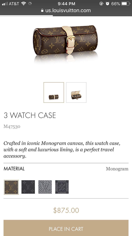 973c6867bcb Best Lv 3 Watch Case for sale in Houston