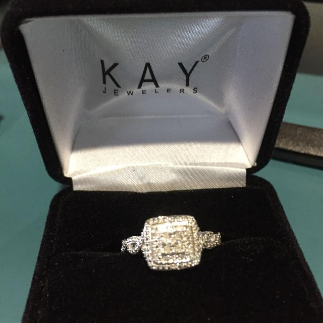 8b3c8d2cd Find more Diamond Ring From Kay Jewelers... Size 6....$80 Value ...