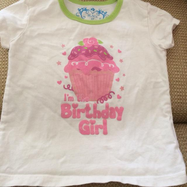 Childrens Place Birthday Shirt 3T