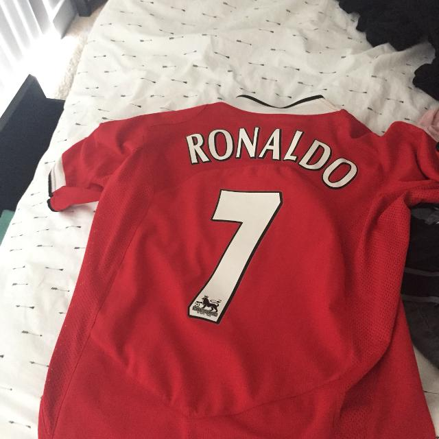 buy online 03c9d fcca7 Ronaldo Manchester United Jersey