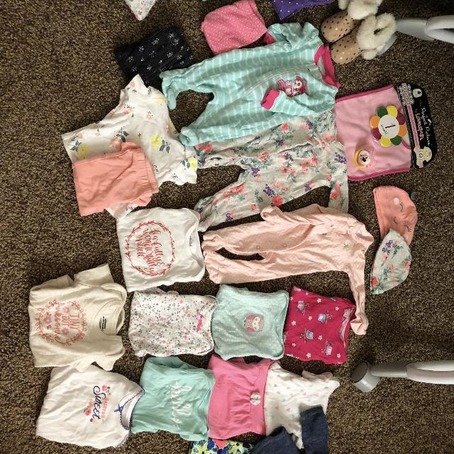 cc6fbc6cab51 Find more Baby Girl Clothes Bundle (newborn