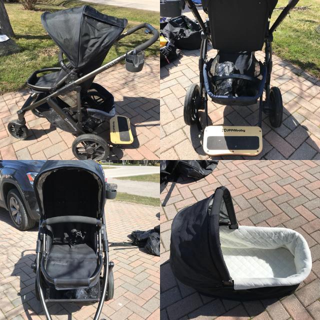Best Uppababy Vista Stroller. for sale in Oakville ...