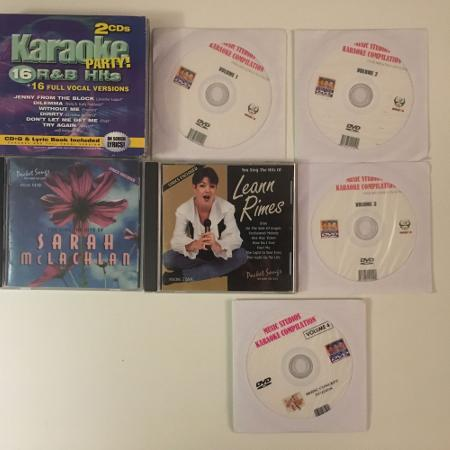 Used, Karaoke CDs and DVDs for sale  Canada