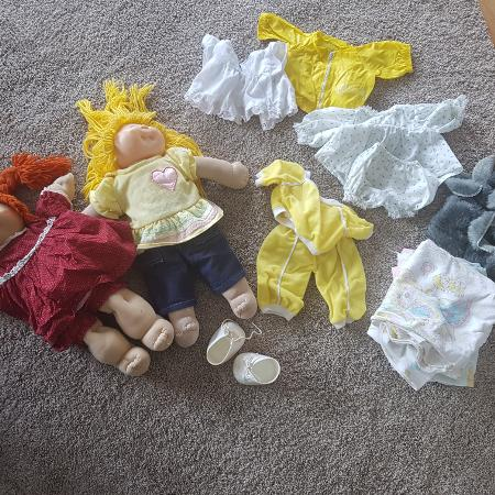 Used, Cabbage Patch kids and clothing for sale  Canada