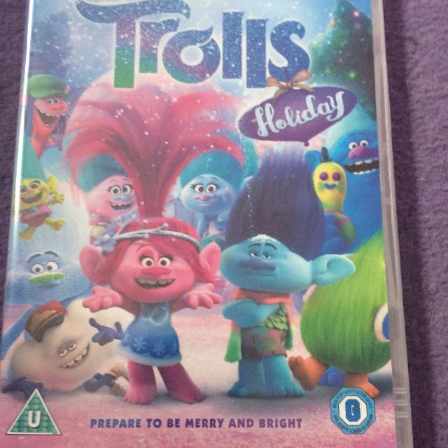 New And Sealed Trolls Holiday Dvd