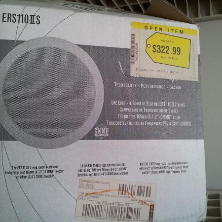 Infinity ceiling loud speaker. Brand... for sale  Canada