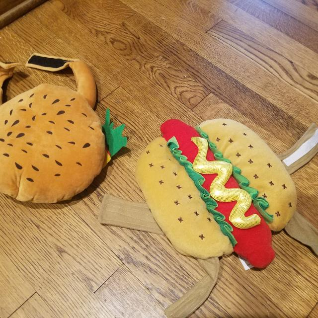 Best Dog Costumes Hot Dog Hamburger For Sale In Richmond