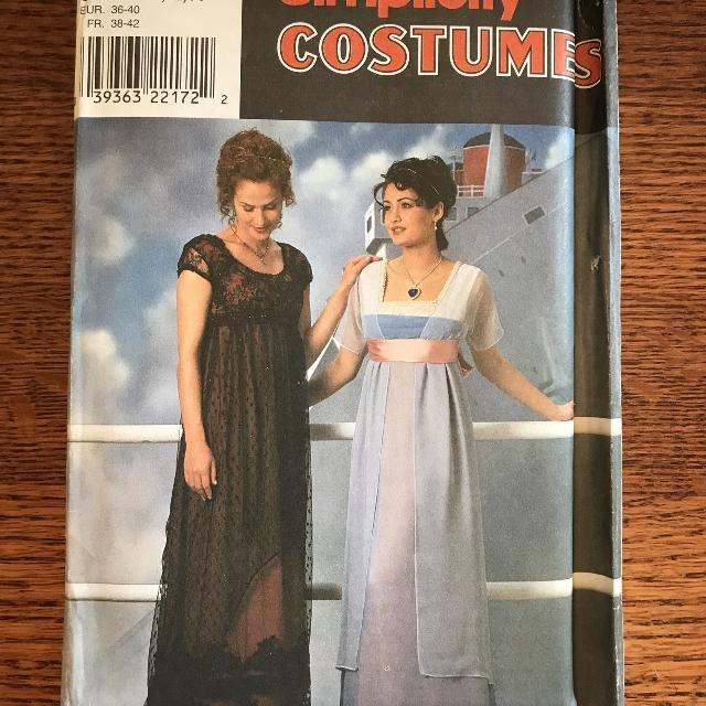 Best Jane Austentitanic Edwardian Gowndress Halloween Costume