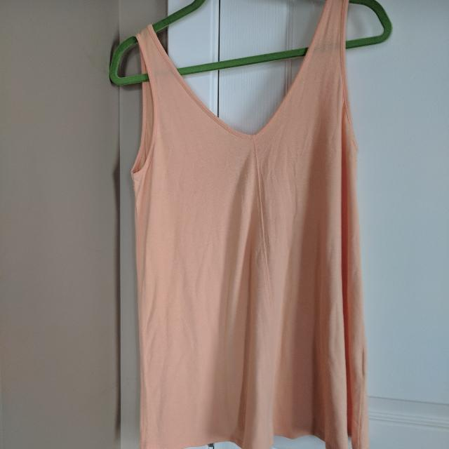 cf83862b32d5c Find more Thyme Maternity Flowy Tank for sale at up to 90% off ...