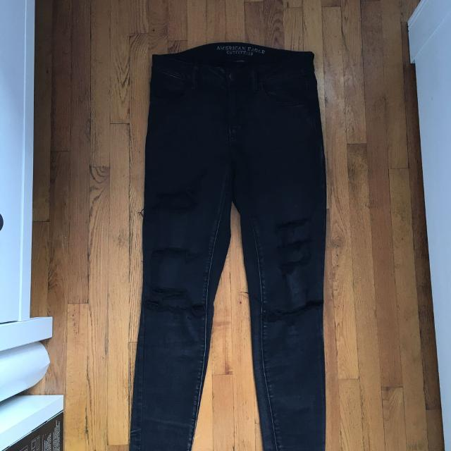 96aa132a48fea Best American Eagle Black Ripped Jeans for sale in Dollard-Des Ormeaux,  Quebec for 2019