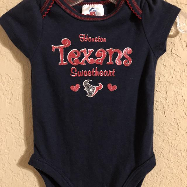 Houston Texans NFL Football 🏈Onesie Playsuit. Nice Condition. Size 3-6  Months 963fa0ed0