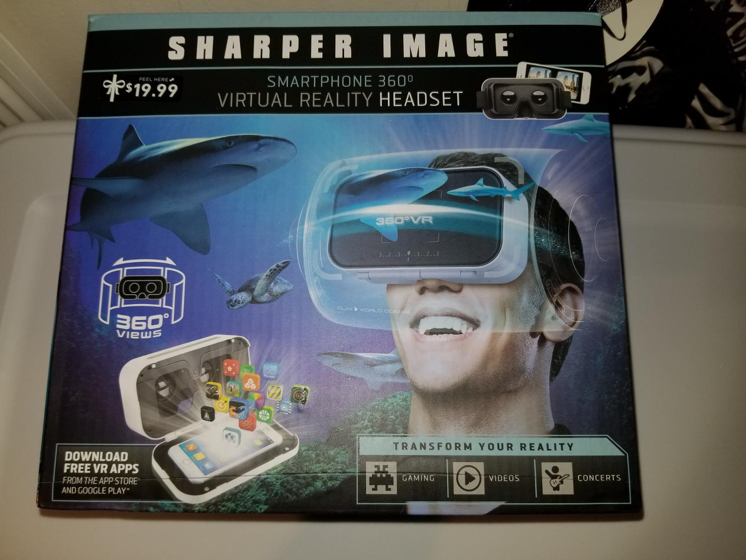Best Sharper Image Virtual Reality Headset For Sale In Metairie