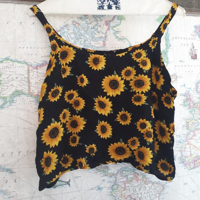 8e562aaf10d40 Find more Sunflower Crop Top Tank for sale at up to 90% off