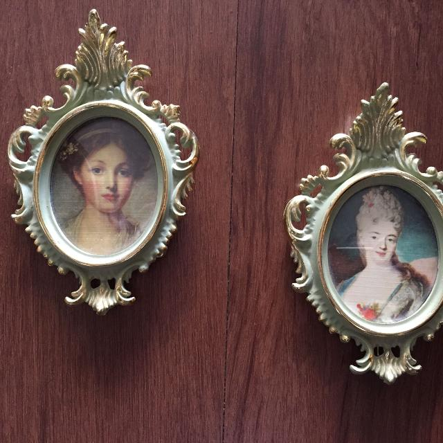 Find More Two Roberta Wood Small Vintage Style Frames For Sale At Up