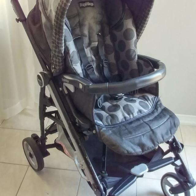 Peg Perego Switch Four Stroller And Bassinet