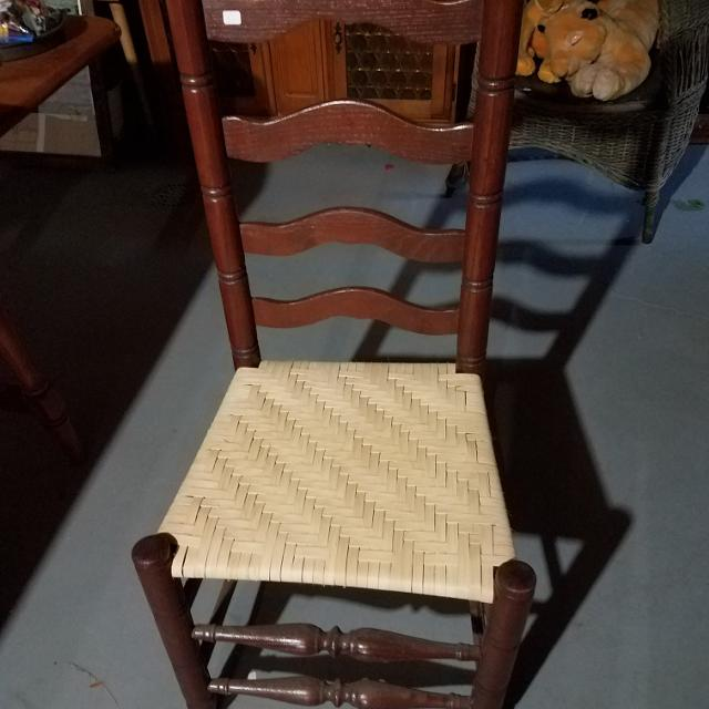 Best Wooden Chair With Woven Seat For Sale In Dekalb County