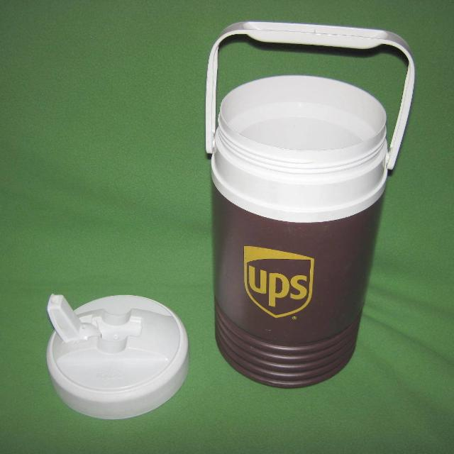 Find More Igloo Ups Half Gallon Brown Cooler Jug Container