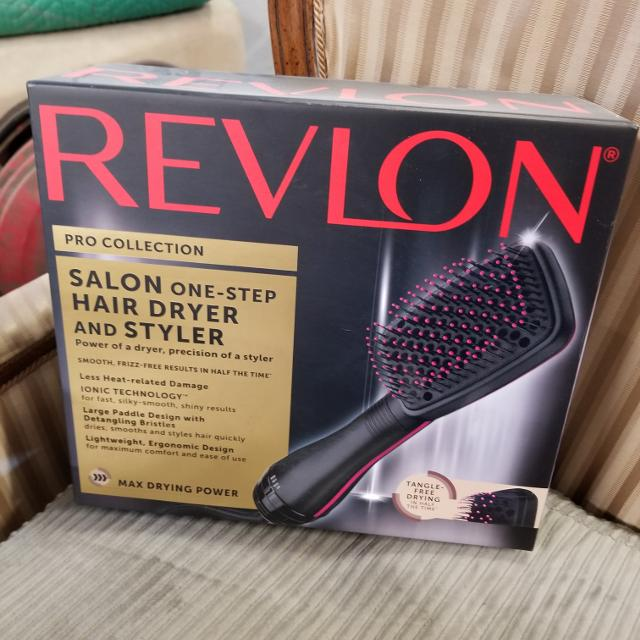 🧡REVLON SALON HAIR DRYER AND STYLER!