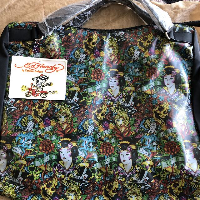 370d0876d93 Find more Reduced!! Ed Hardy Tote Bag - Great For Travel school ...